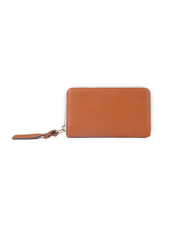 The Horse The Horse Block Wallet Tan