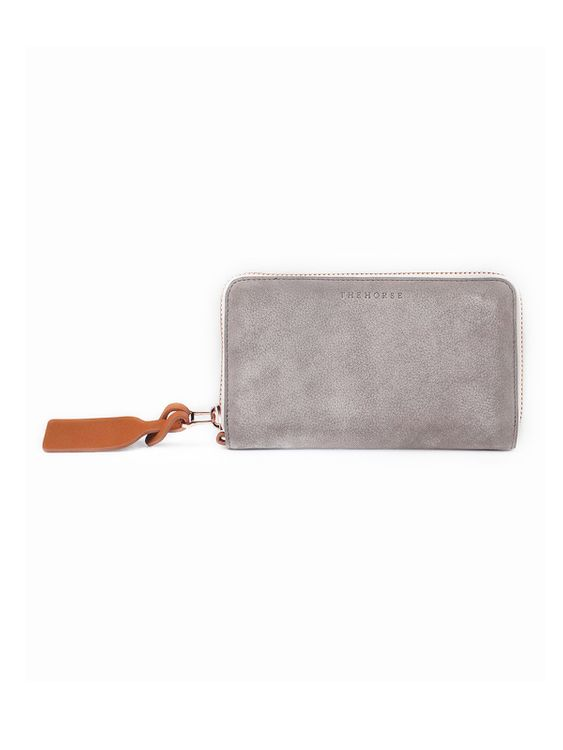 The Horse The Horse Block Wallet Grey