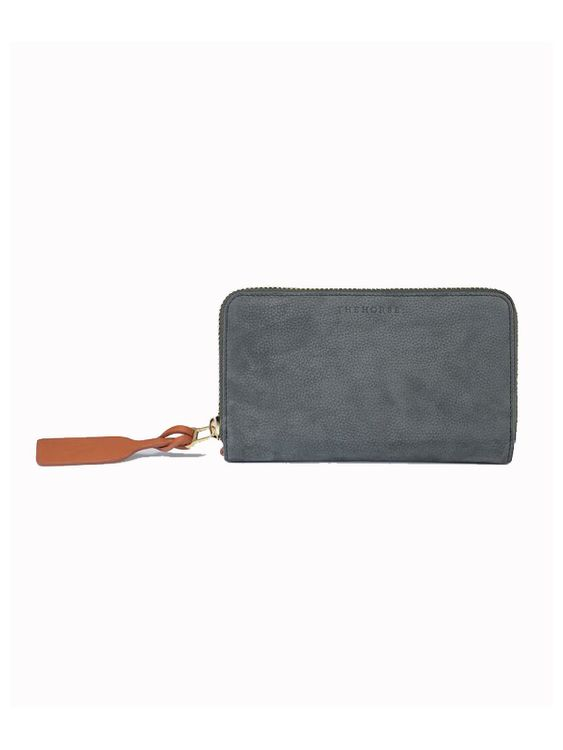 The Horse The Horse Block Wallet Moss Green