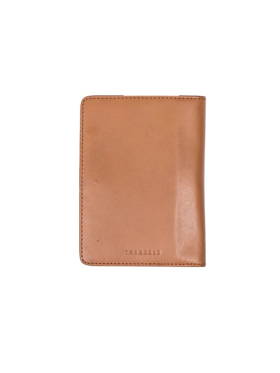 The Horse The Horse Passport Cover Tan