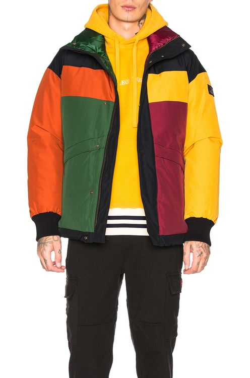 Aime Leon Dore x Woolworth Color Blocked Down Jacket