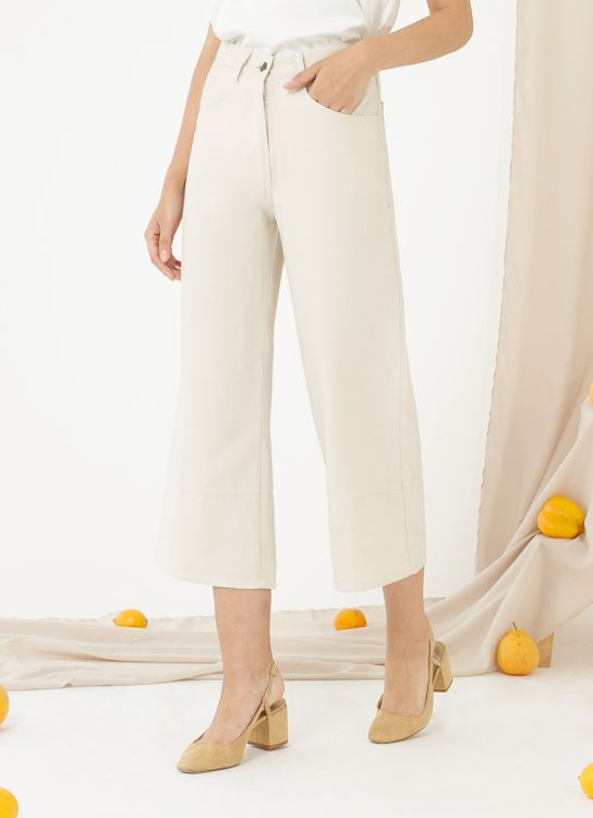 CLOTH INC Ed Culottes - Creme