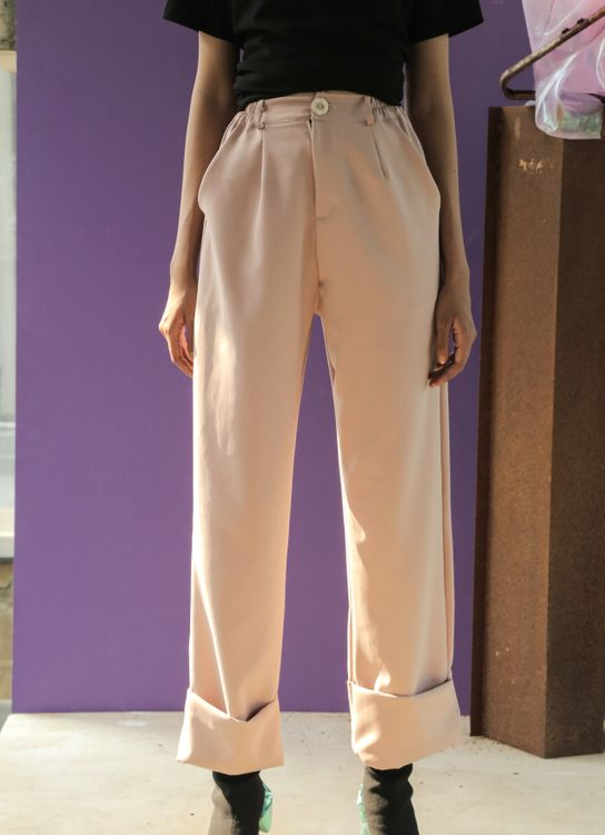 Avgal Collection Thea Pants - Dusty Pink