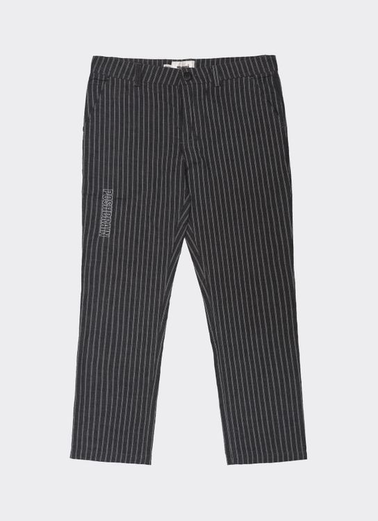 POSHBRAIN Bars Regular Pants - Gray