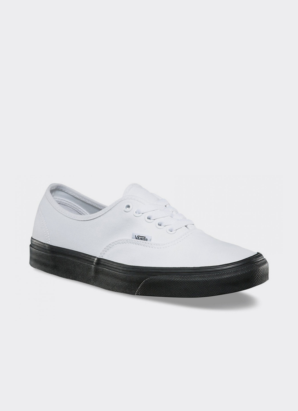 VANS Black & White UA Authentic Low Top Sneakers
