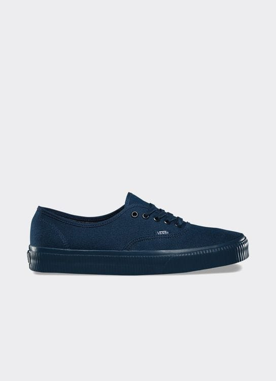 Vans Blue UA Authentic Mono Surplus Low Top Sneakers