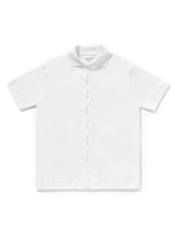 Lady White Co. Lady White Co. Placket Polo White