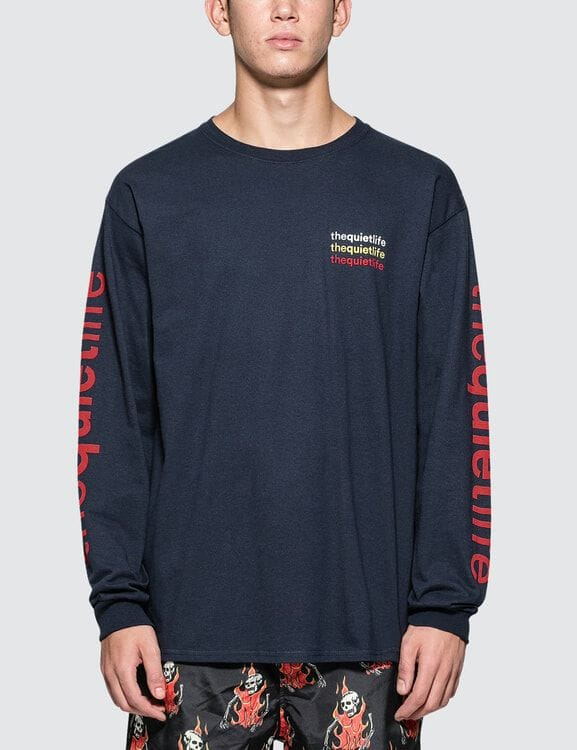 The Quiet Life Origin Rainbow L/S T-Shirt