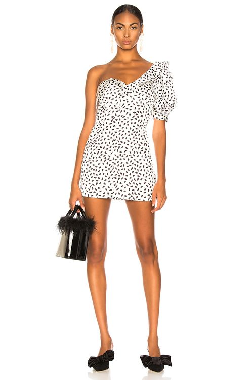 Self Portrait Dot Printed Dress
