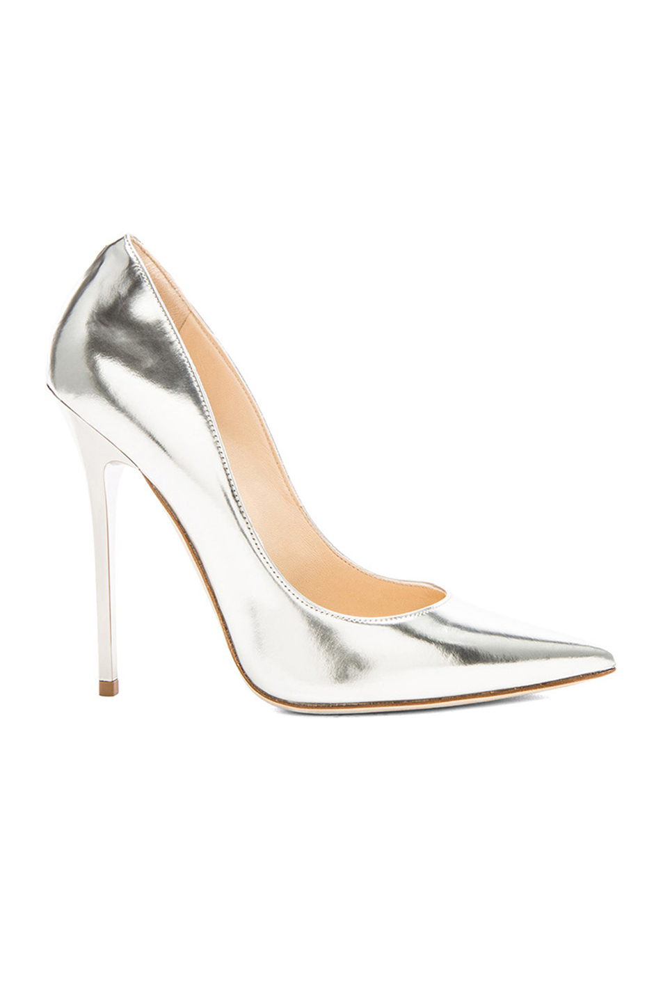 Jimmy Choo Anouk Leather Pumps