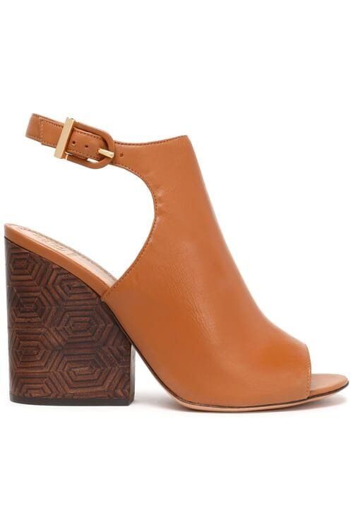 Tory Burch Leather Sandals - Brown