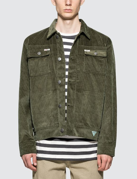 Infinite Archives Guess x  Corduroy Worker Jacket