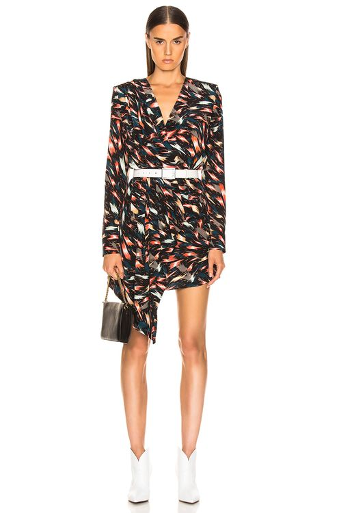Givenchy Mini Print Dress
