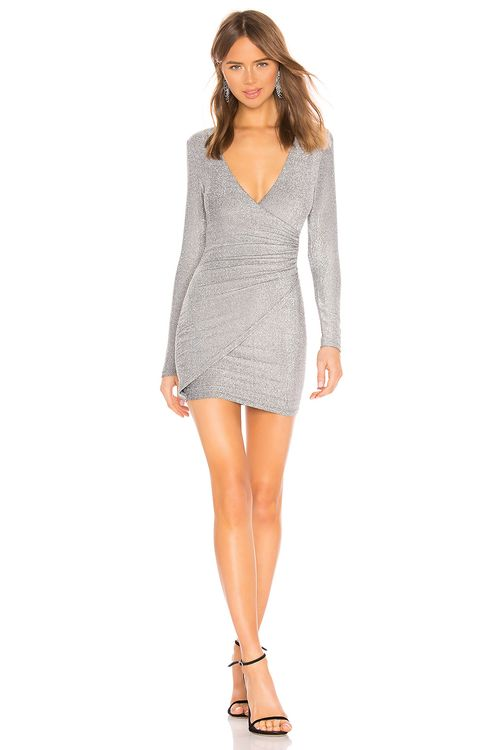 About Us Laurie Wrap Dress