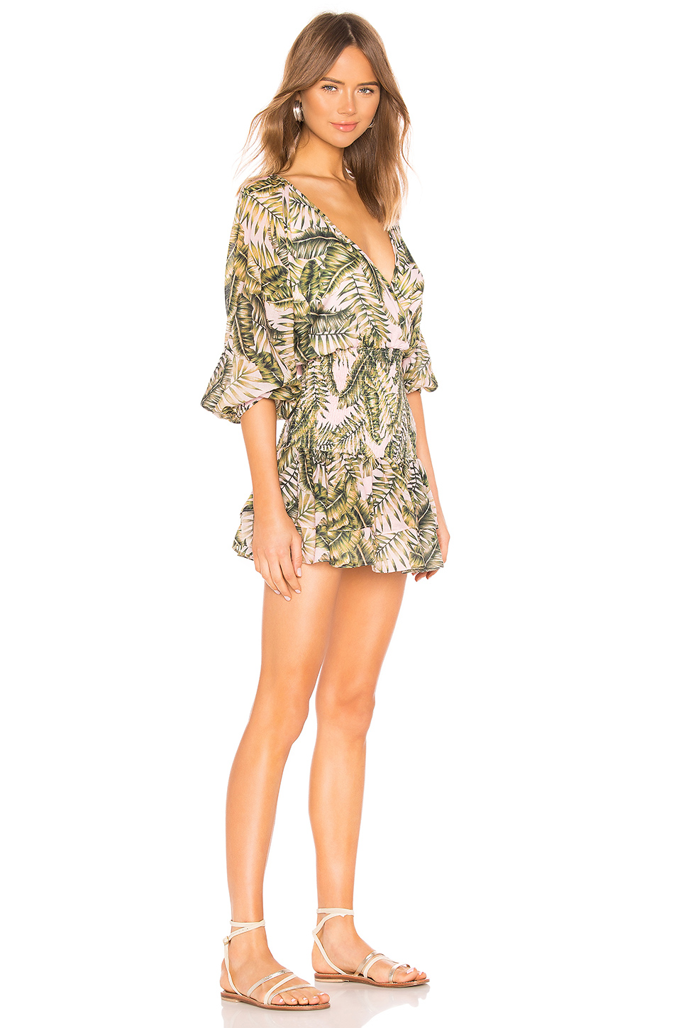 Suboo Palma Wrap Mini Dress