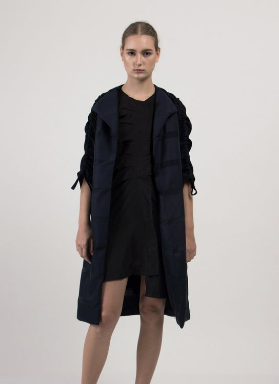 Leux Studio Herriet Coat - Navy