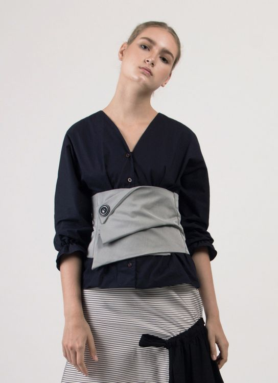 Leux Studio Hester Top - Navy