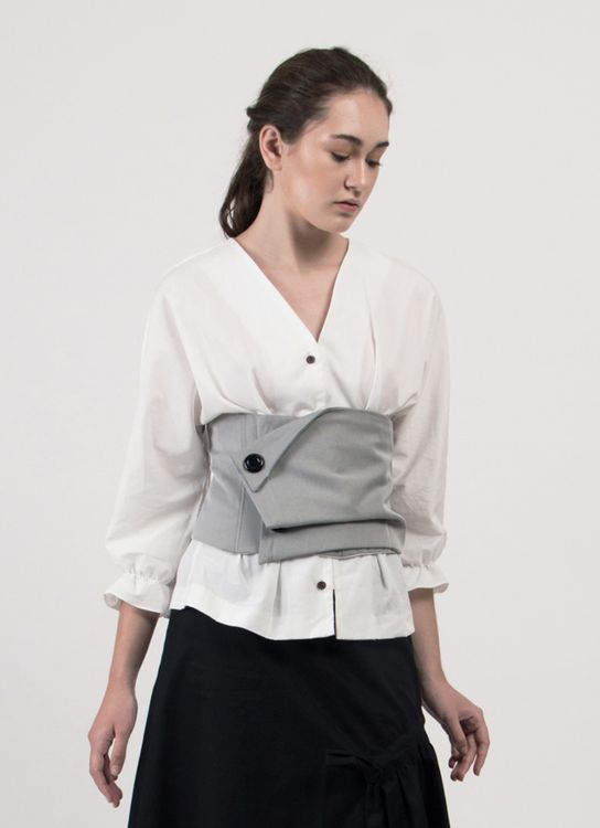 Leux Studio Hester Top - White