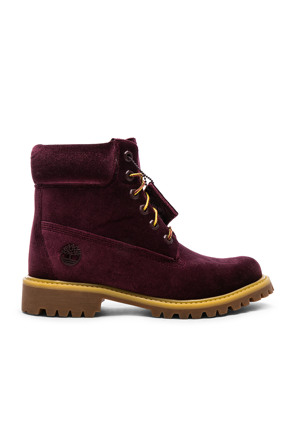 82aaeb7a784 Timberland Velvet Hiking Boots, OFF-WHITE