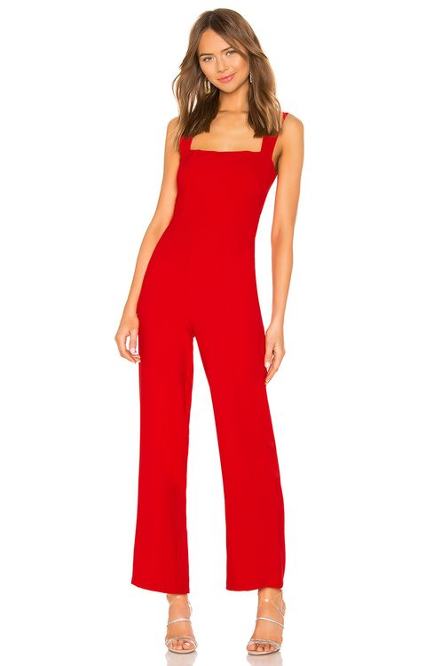 About Us Karolyn Square Neck Jumpsuit