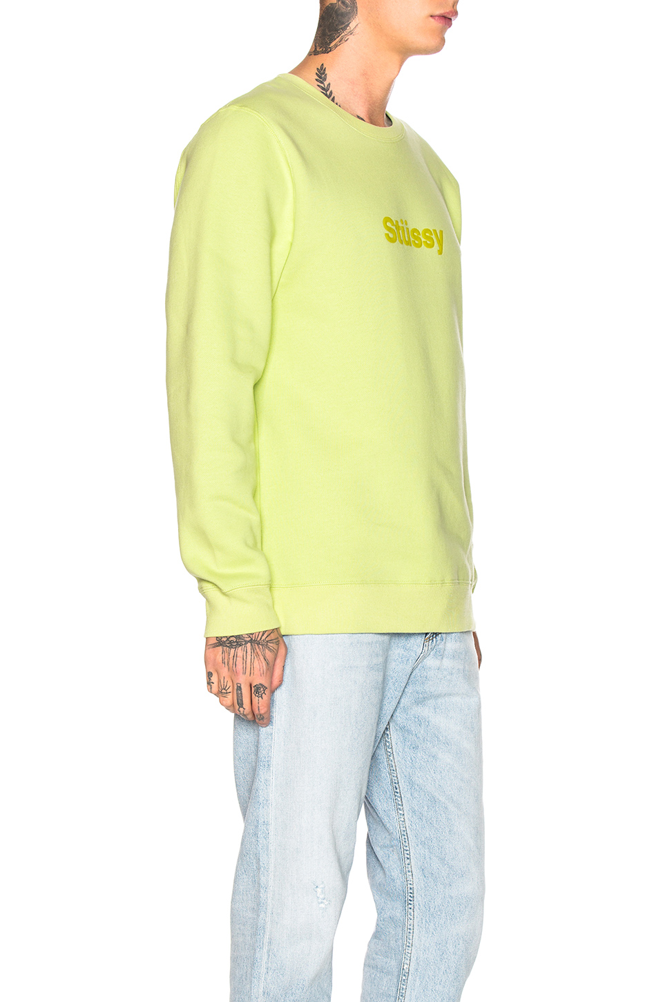 Stussy Design Applique Crew