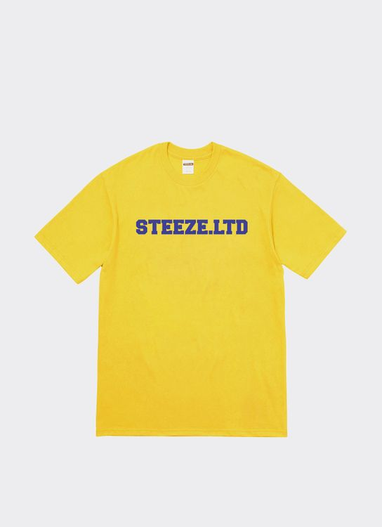 Steeze.Ltd College T-Shirt - Yellow