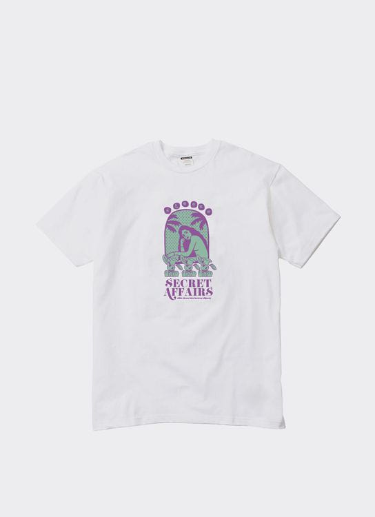 Steeze.Ltd Heaven Slipway T-Shirt - White
