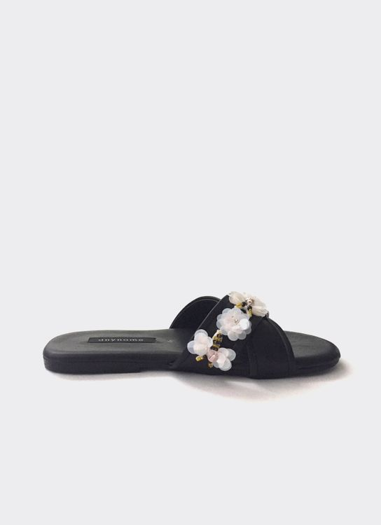 Anynome Busy Bee Sandals - Black