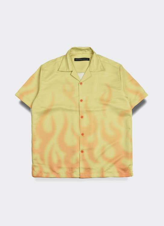 Influential Syndicate Flame Shirt - Yellow