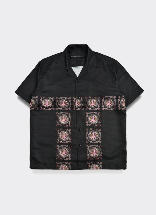 Influential Syndicate Peace Shirt - Black