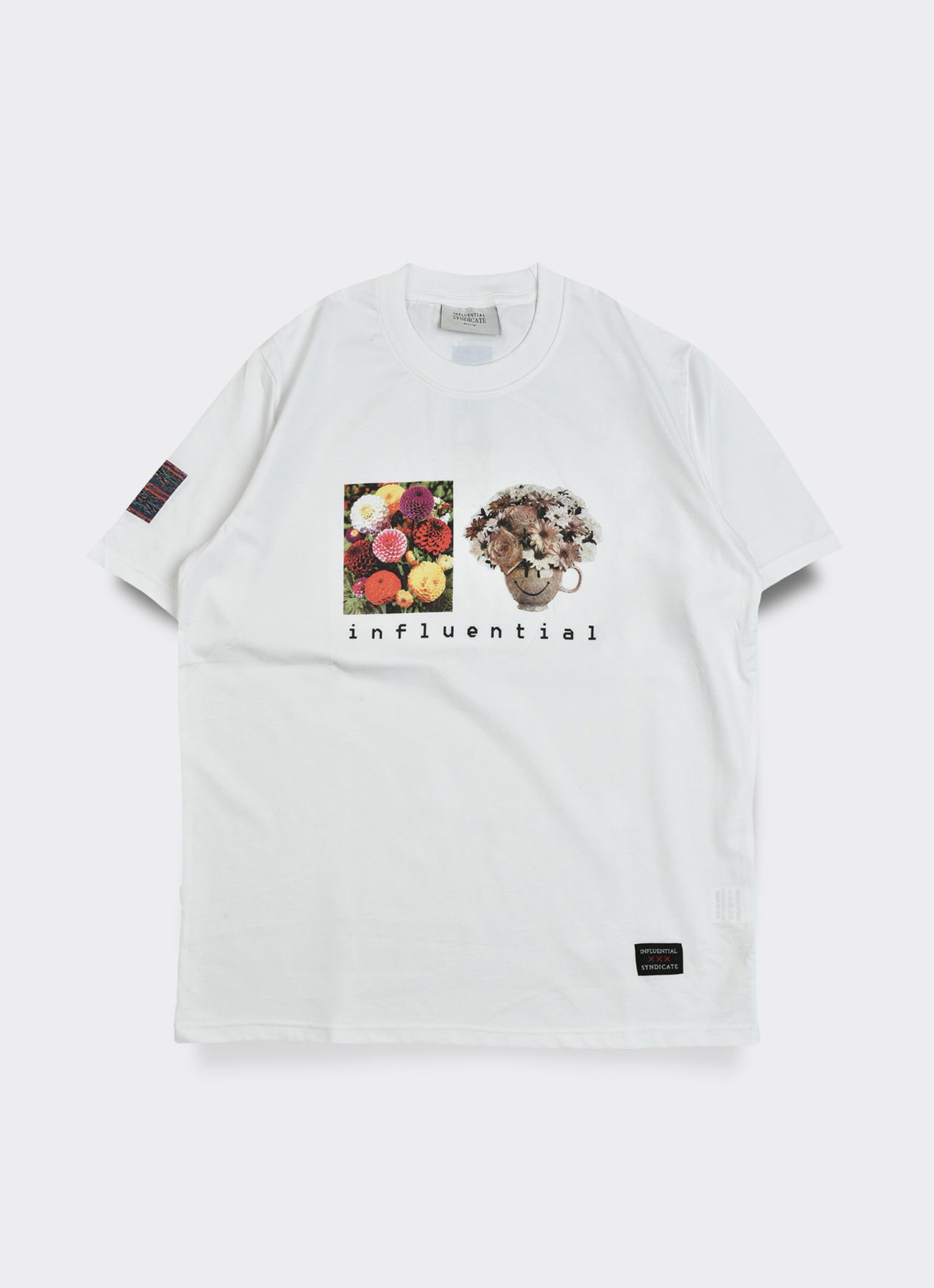6d7a06339d13f Buy Original Influential Syndicate Flower T-Shirt - White at ...
