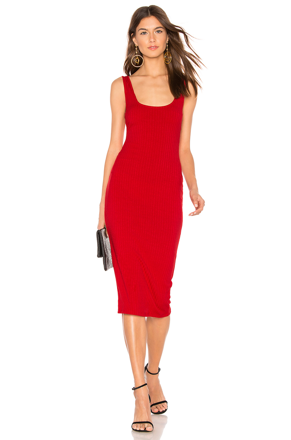Privacy Please Afton Midi Dress