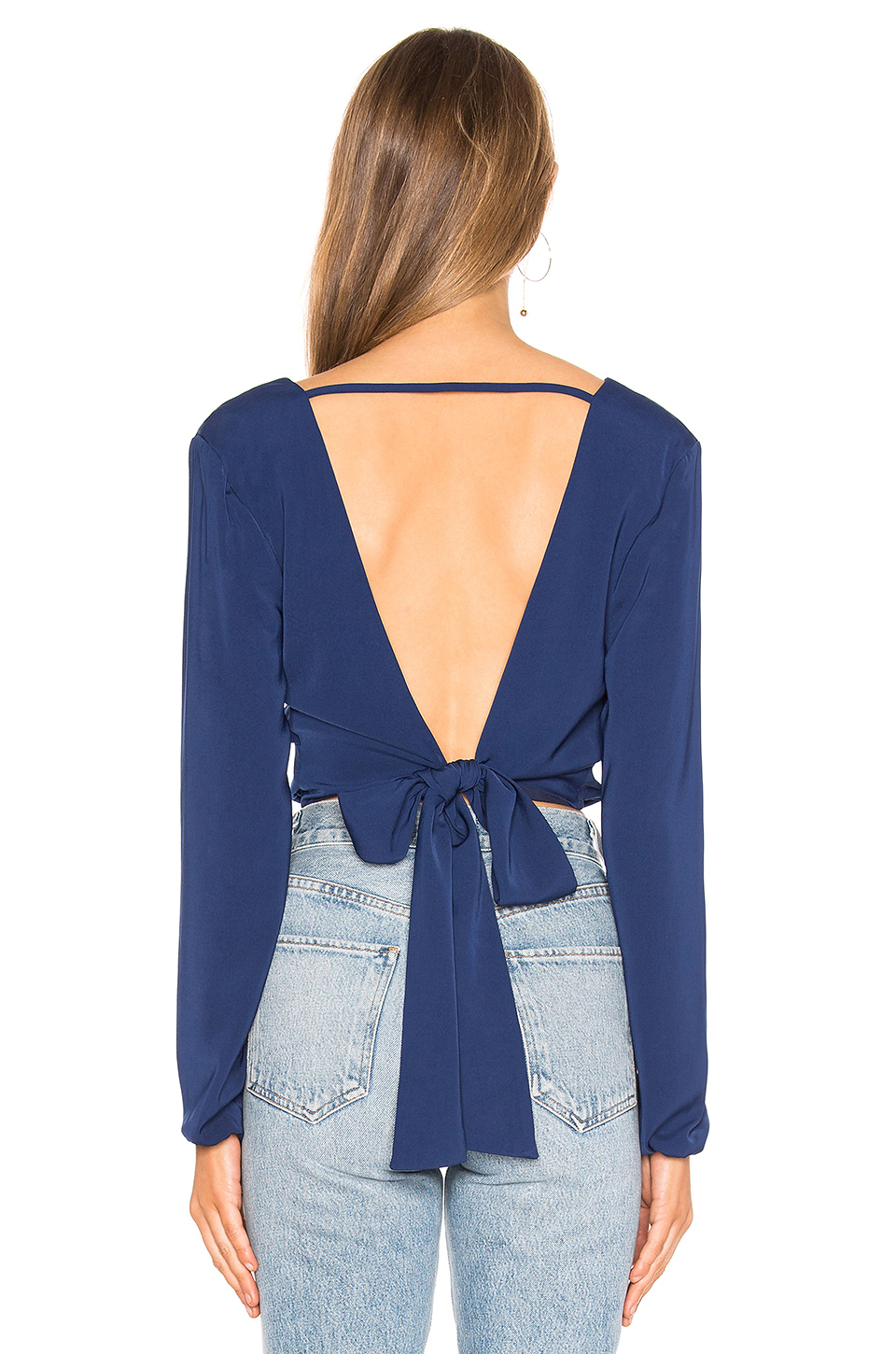 About Us Daphne Open Back Top