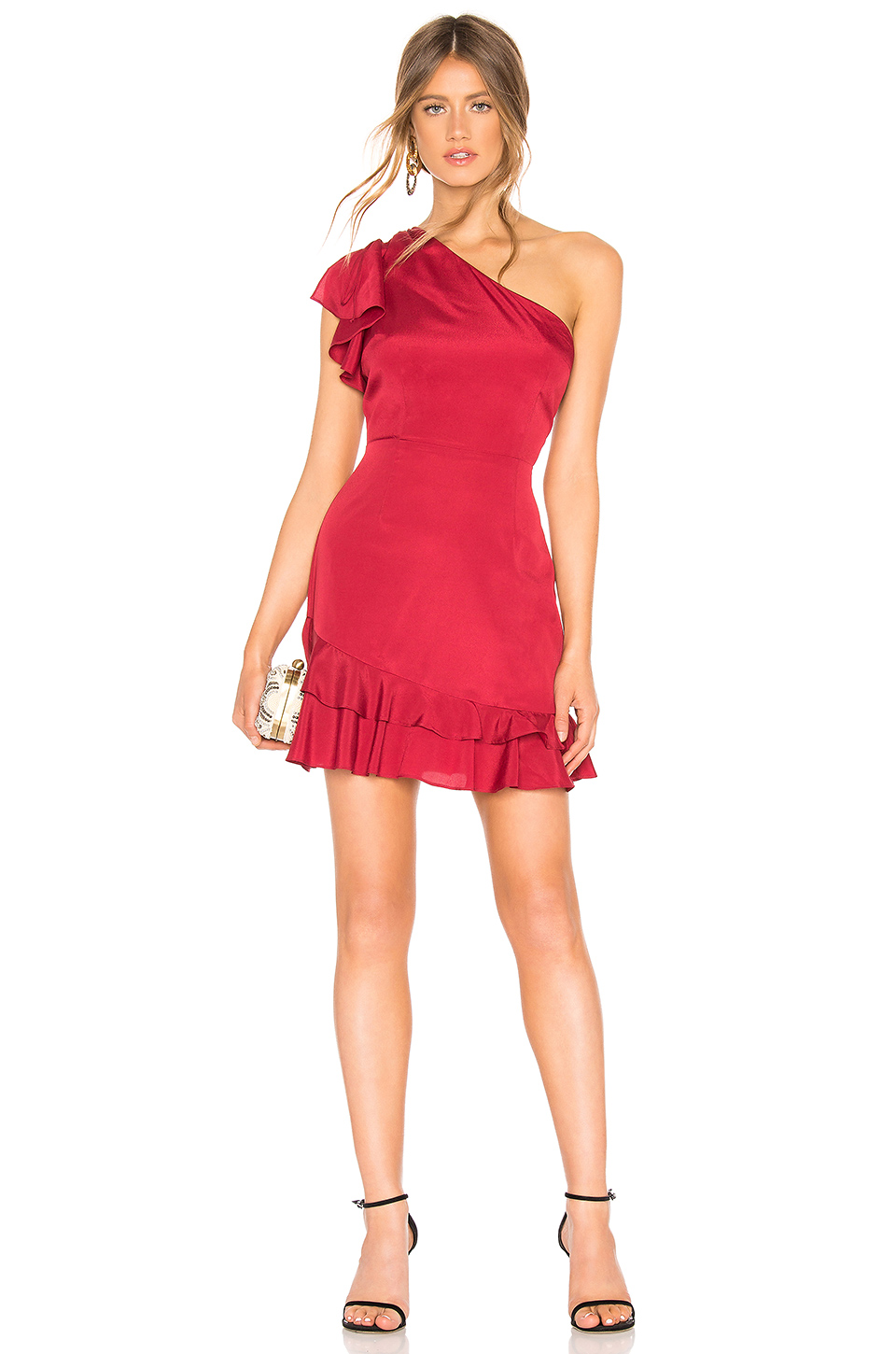 About Us Bianca One Shoulder Dress