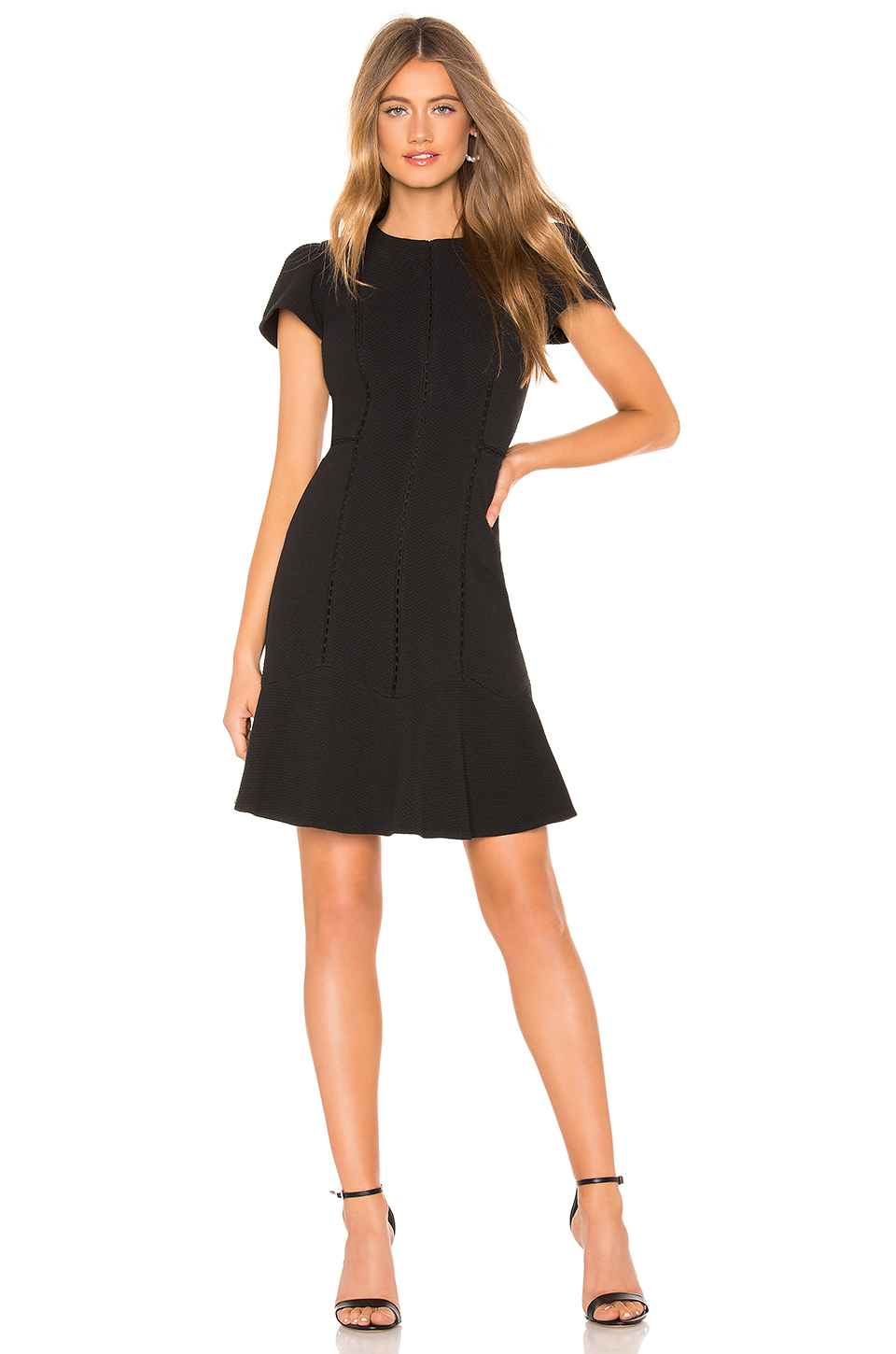 Rebecca Taylor Stretch Texture Mini Dress