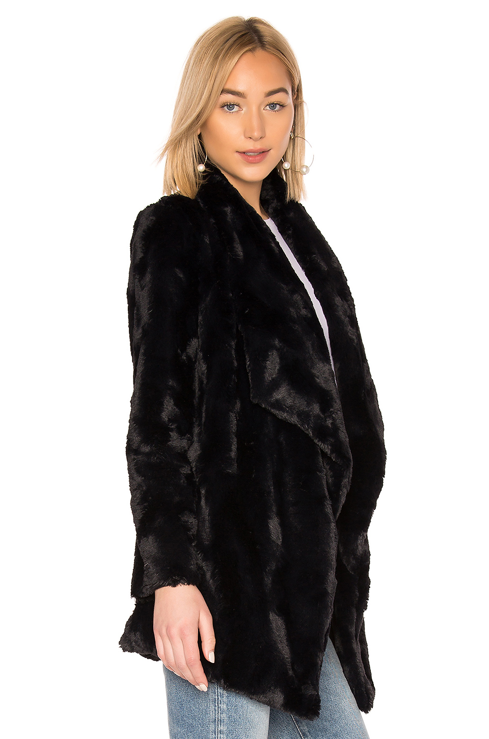 BB Dakota JACK by BB Dakota Warm Thoughts Faux Fur Jacket