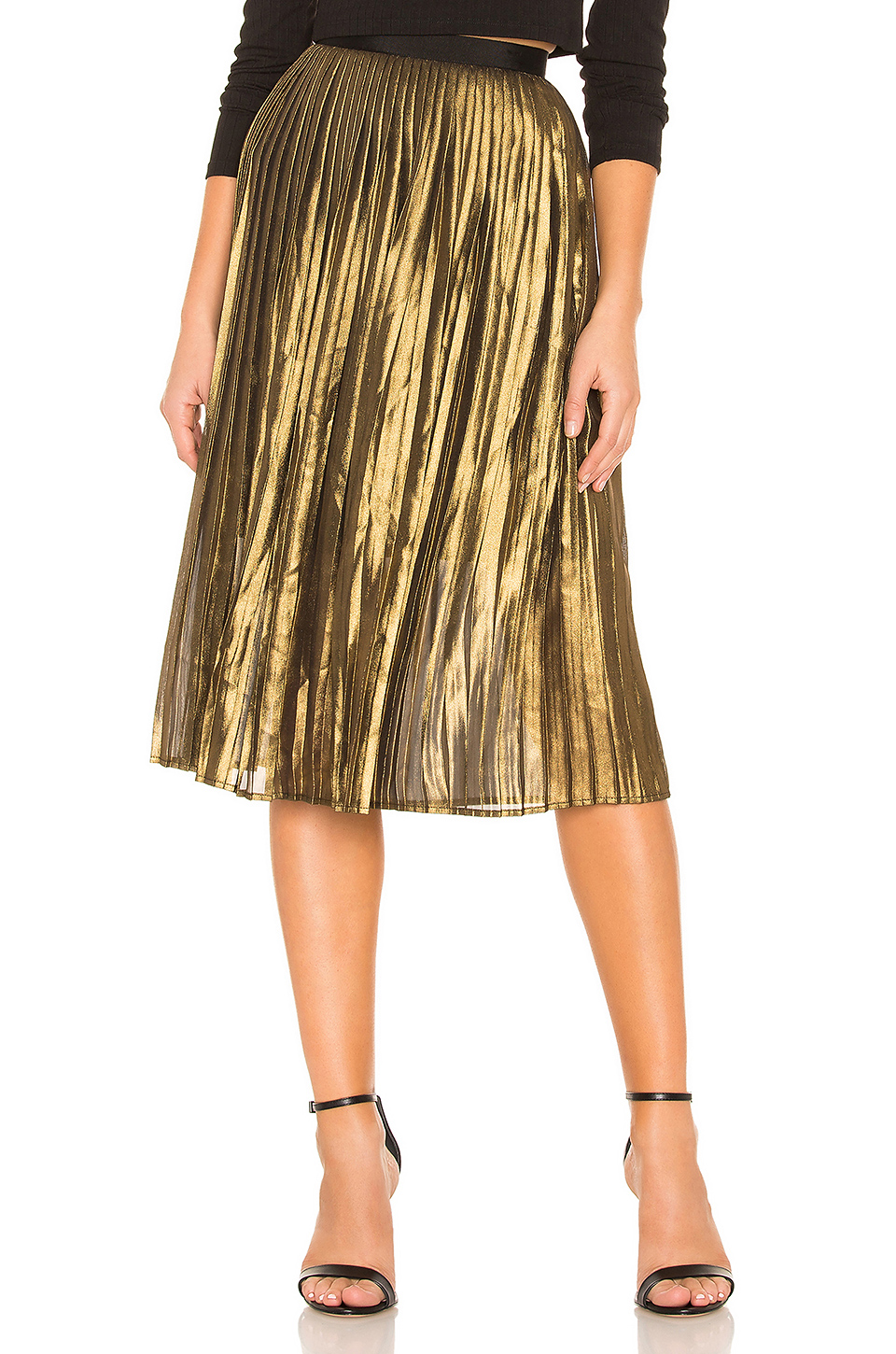 BB Dakota Foil The Trouble Skirt