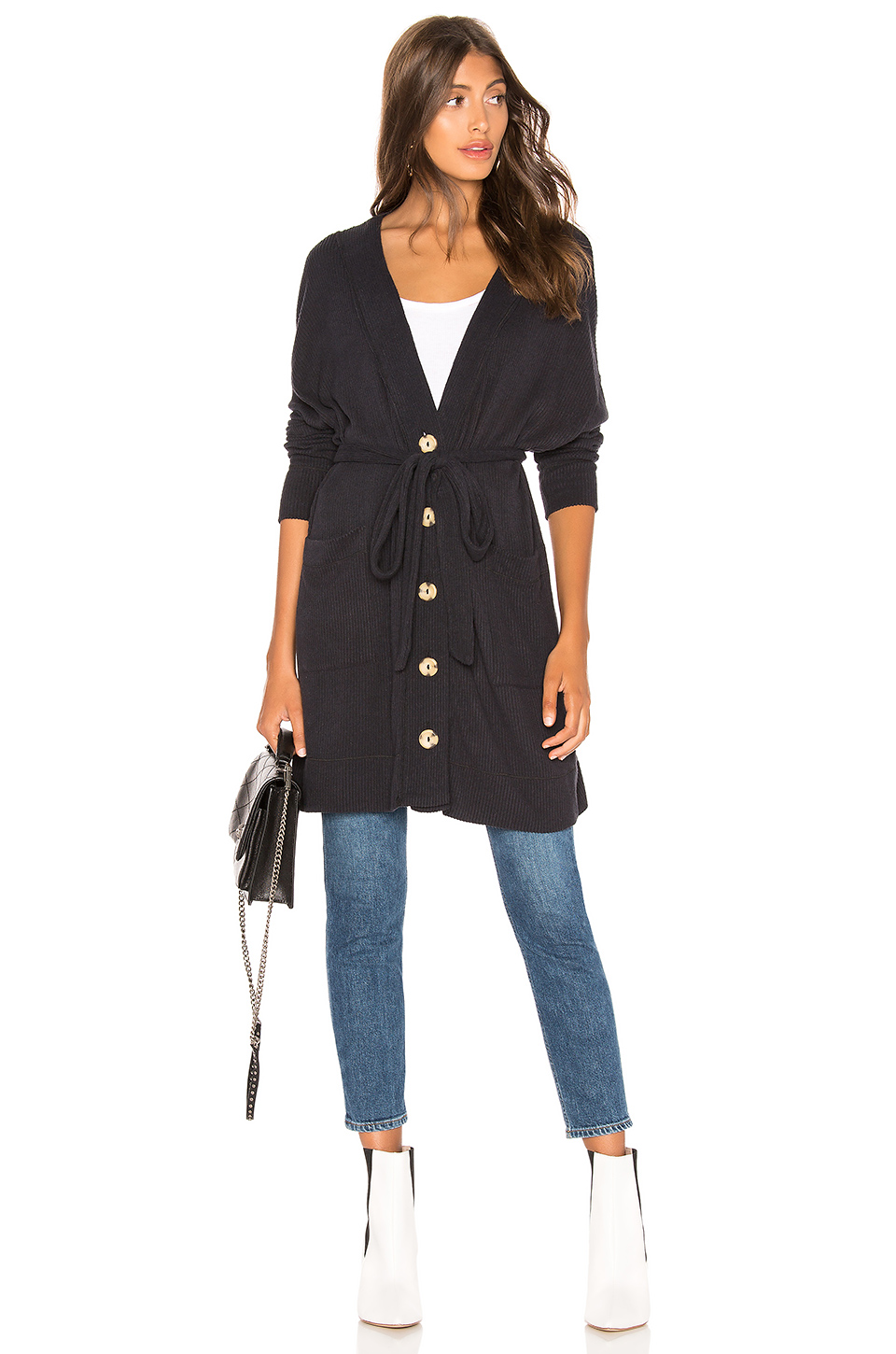 Free People Sleepy Rib Robe