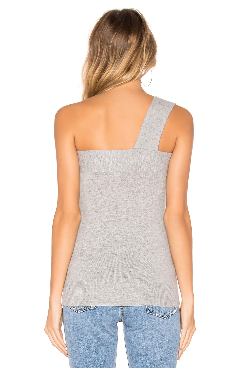 Autumn Cashmere Draped One Shoulder Top