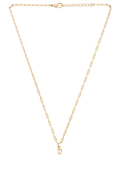 joolz by Martha Calvo S Initial Necklace