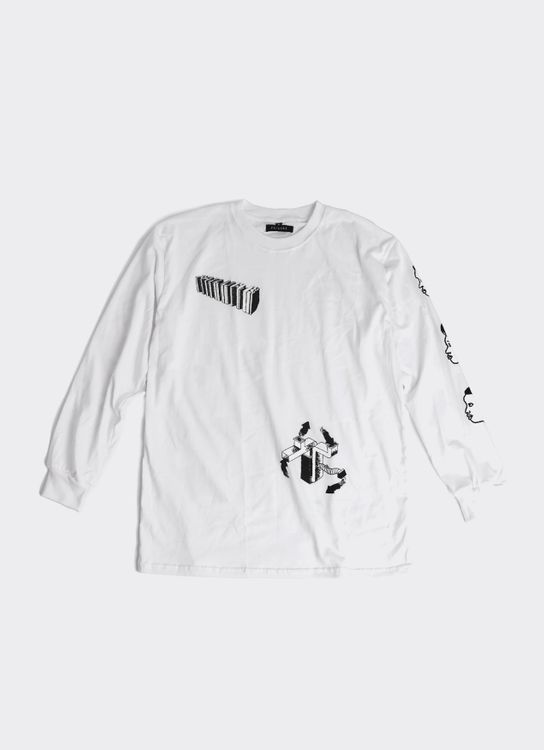 Failure Insignificance 6 Long-Sleeved T-Shirt - White