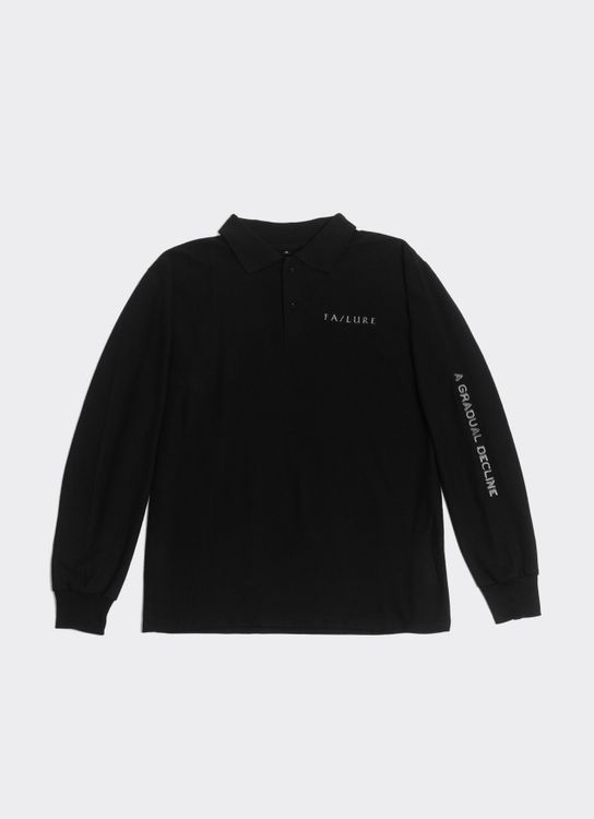 Failure Fiasco 3 Long-Sleeved Polo Shirt - Black