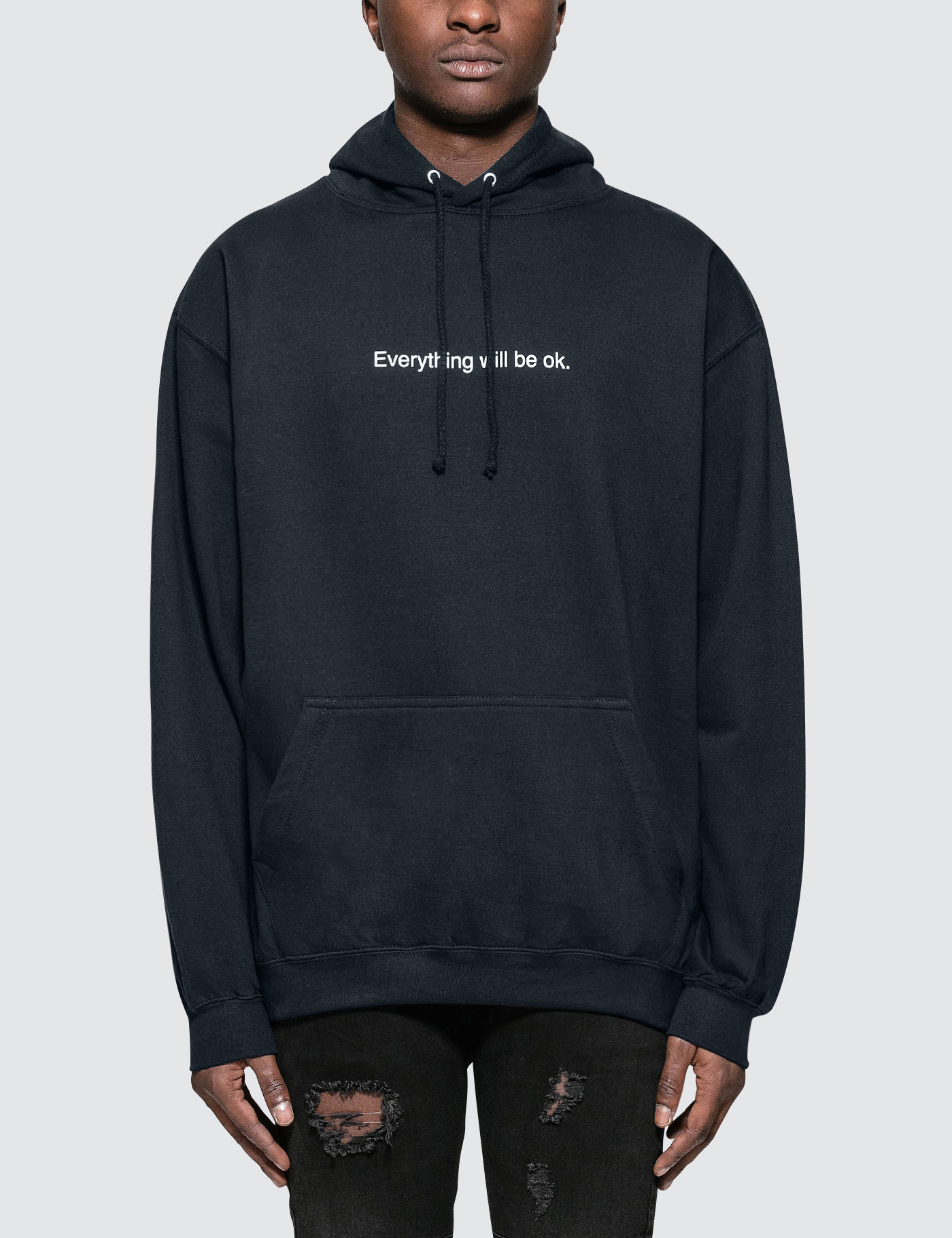 53df1ff7789 Buy Original F.A.M.T. Everything Will Be OK Hoodie at Indonesia ...