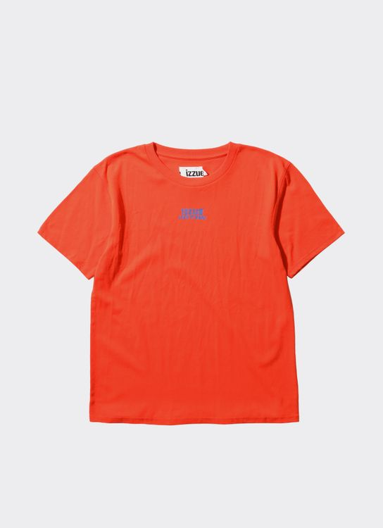 Izzue Orange Basic Woven Label T-Shirt