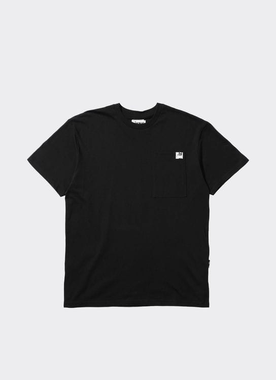 Izzue Black Zip Pocket T-Shirt