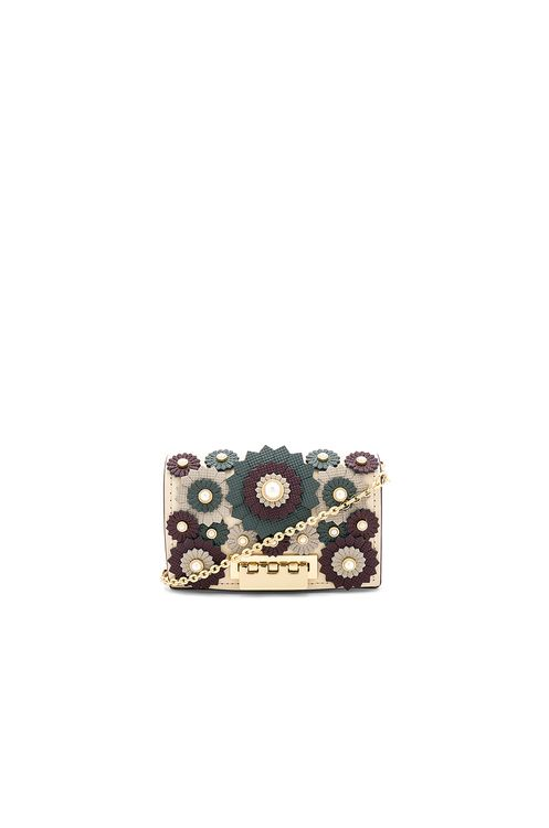 ZAC Zac Posen Earthette Card Case With Chain