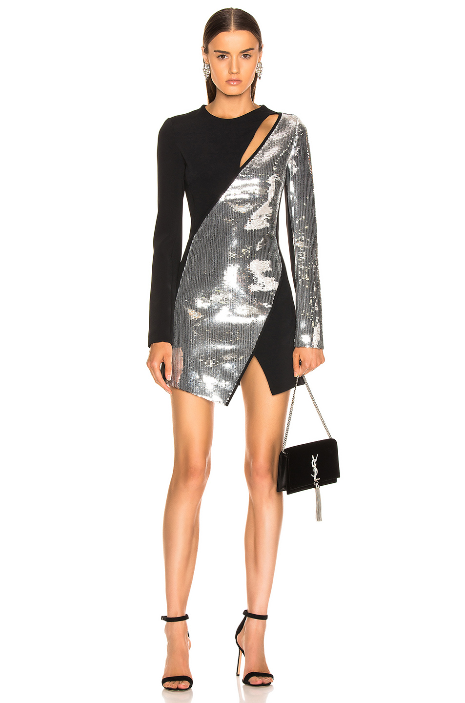 3e30d992 Buy Original David Koma Cutout Sequin Mini Dress at Indonesia | BOBOBOBO
