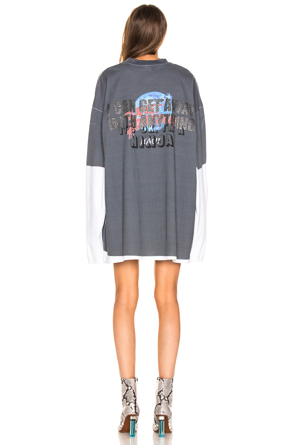 VETEMENTS Demna's Favorite Long Sleeve Naughty Angel