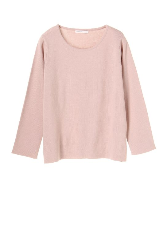 E-hyphen World Gallery Hisa Sweater - Pink