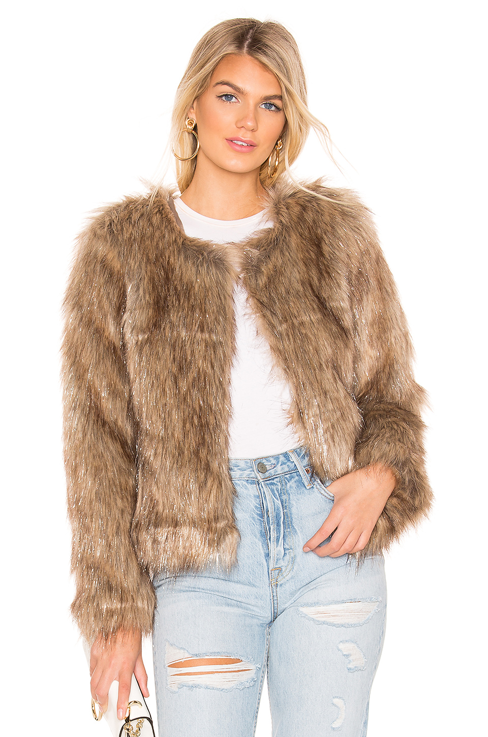 0e591be9f173 Buy Original Unreal Fur Perfect Faux Fur Jacket at Indonesia | BOBOBOBO